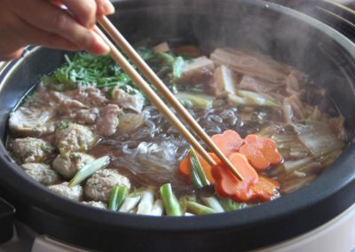 Chanko Nabe - traditional Japanese hot pot