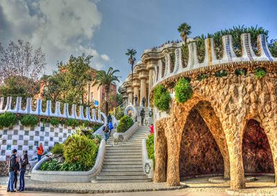 Gaudi Park Guell Barcelona Spain