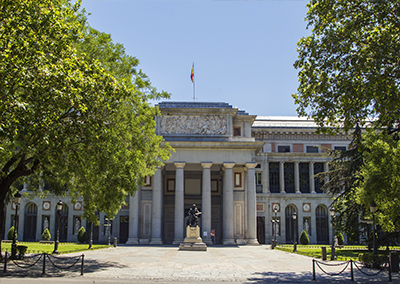 Prado Art Gallery Museum Madrid
