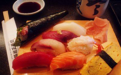 Sushi making activity