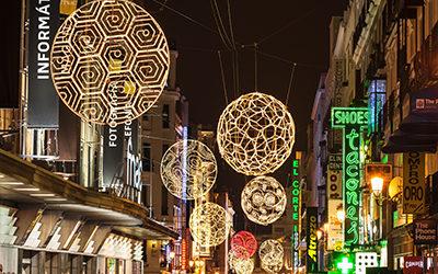 Illuminations Madrid Christmas