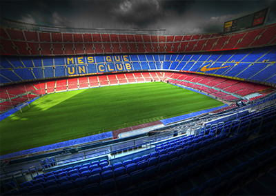 Camp nou tour FC Barcelona football ground