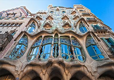 Casa Batllo Gaudi Architecture Barcelona