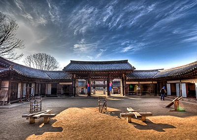 Templo y Jardín