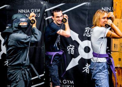 Addestramento ninja