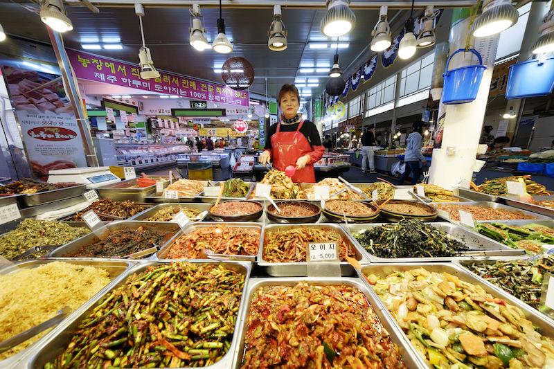 Mercato notturno di Seoul