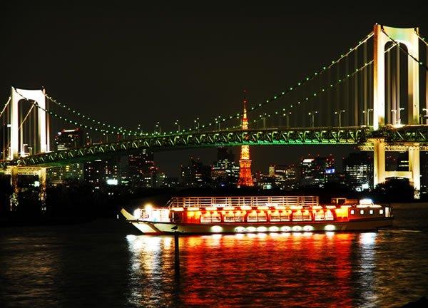 Yakatabune Boat on Tokyo River