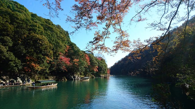 Kyoto Arashiyama Katsura River Boats