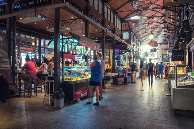 Local Market in Madrid