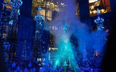 Winter illumination Japan