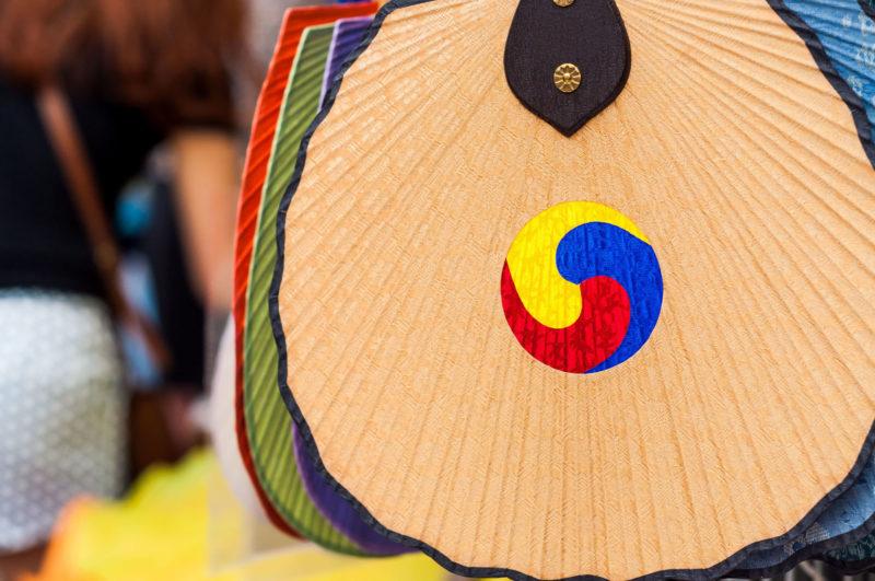Korean traditional fan