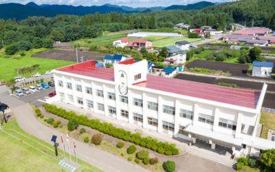 school drone outside